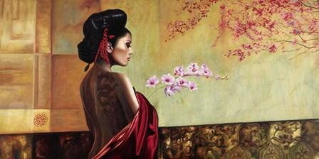 Wild Orchid by Pierre Benson art print