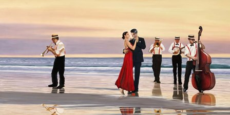 Romance on the Beach by Pierre Benson art print