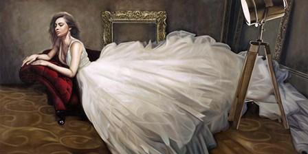 The White Dress by Pierre Benson art print