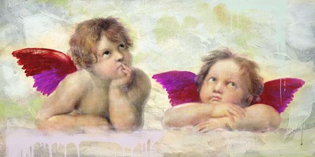 Raphael's Putti 2.0 by Eric Chestier art print