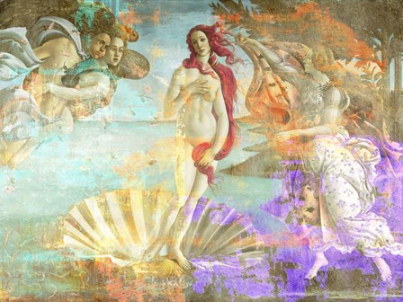 Botticelli's Venus 2.0 by Eric Chestier art print