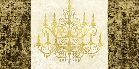 Chandelier Royale by Remy Dellal art print