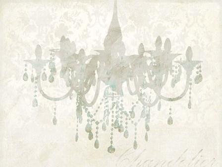 Chandelier by Remy Dellal art print