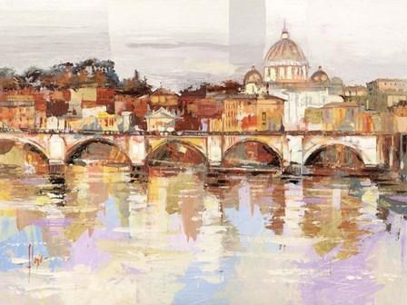 Dolcemente Roma by Luigi Florio art print