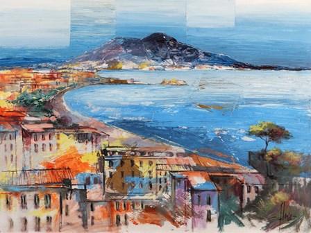 Dolce Napoli by Luigi Florio art print