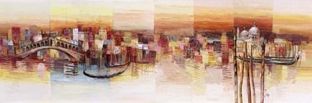 Sognando Venezia by Luigi Florio art print