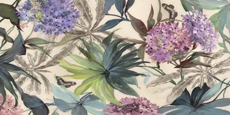 Hydrangeas Panel by Eve C. Grant art print