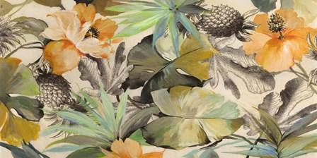 Wild Ibiscus by Eve C. Grant art print