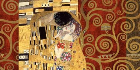 The Kiss (Gold) by Gustav Klimt art print