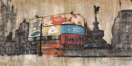 Piccadilly Circus 1 by Dario Moschetta art print