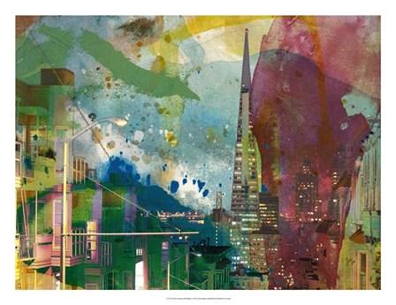San Francisco Buildings I by Sisa Jasper art print