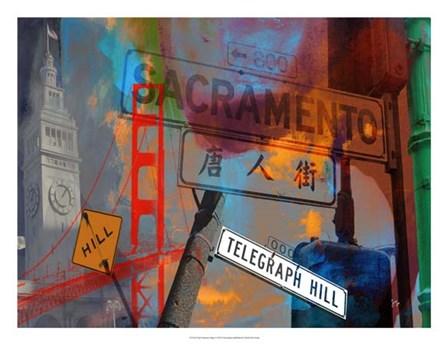 San Francisco Signs I by Sisa Jasper art print