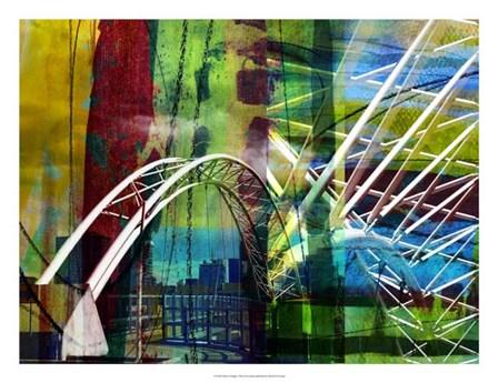 Denver Bridge by Sisa Jasper art print