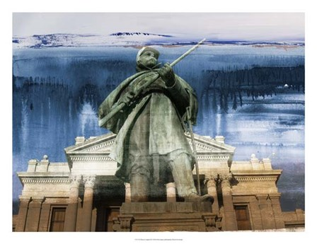 Denver Capitol III by Sisa Jasper art print