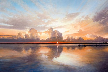 Sunset Sunrise by Bruce Nawrocke art print