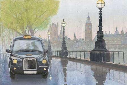 Along the Thames v.2 by Myles Sullivan art print