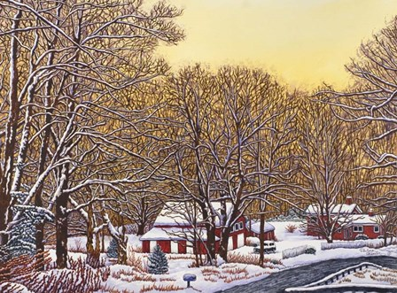 Boston Hill Road by Thelma Winter art print