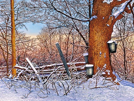 Buckets And Branches by Thelma Winter art print