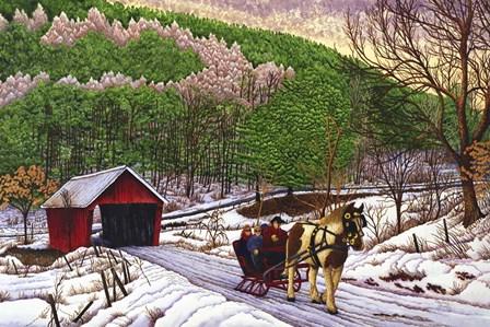 Down Memory Lane by Thelma Winter art print