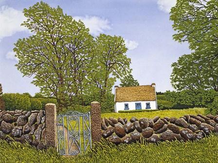 Irish Cottage by Thelma Winter art print