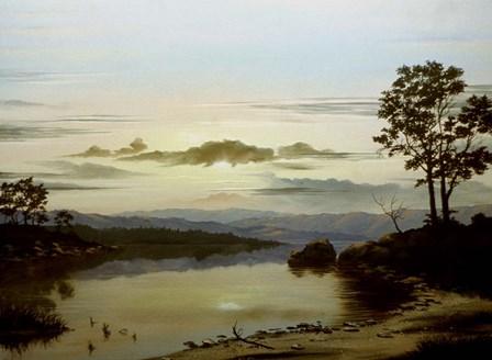 Sunrise by Thomas Linker art print