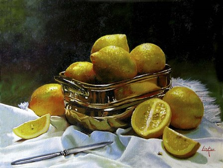 Lemons 2 by Thomas Linker art print