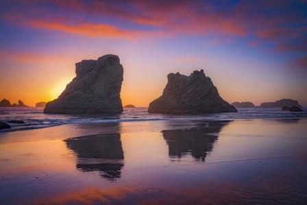 Bandon Sunset by Darren White Photography art print
