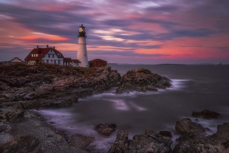 Portland Head Sunset by Darren White Photography art print