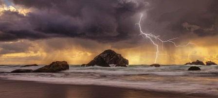 Storm At Face Rock1 by Darren White Photography art print
