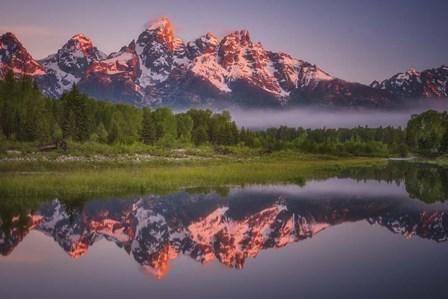 Teton Awakening by Darren White Photography art print