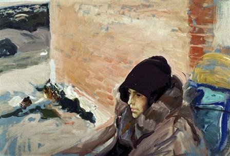Portrait of Maria as a Convalescent by Joaquin Sorolla y Bastida art print