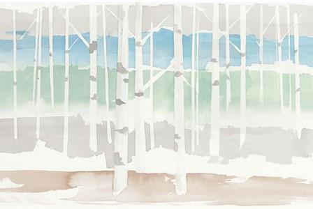Springlake Aspens Green by Avery Tillmon art print