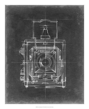 Camera Blueprints I by Ethan Harper art print
