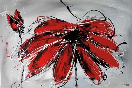 Fleur de Coeur by Annie Rodrigue art print
