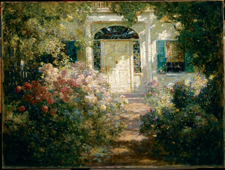 Doorway And Garden by Abbott Fuller Graves art print
