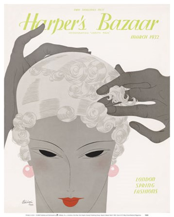 Harper's Bazaar March 1932 art print
