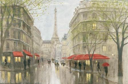 Impression of Paris by Myles Sullivan art print
