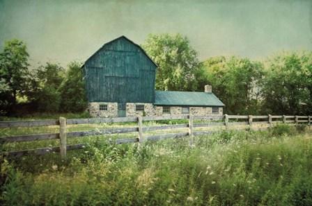 Blissful Country III by Elizabeth Urquhart art print