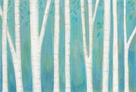 Spring Woods by Melissa Averinos art print