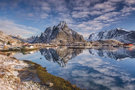 Mirror In The Fjord by Michael Blanchette Photography art print
