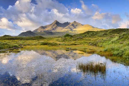 Cuillin Reflection by Michael Blanchette Photography art print