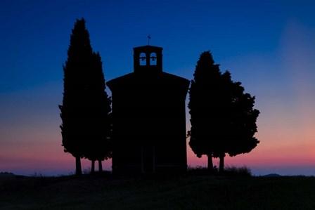 Dusk at Vitaleta Chapel by Michael Blanchette Photography art print