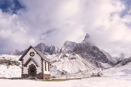Alpine Chapel by Michael Blanchette Photography art print