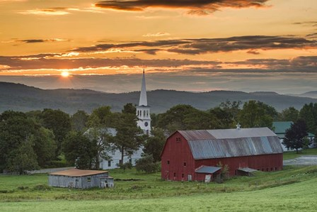 A Farm and A Prayer by Michael Blanchette Photography art print