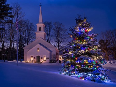 New England Christmas by Michael Blanchette Photography art print