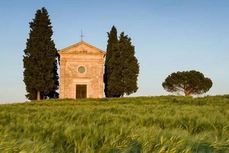 Chapel at Vitaleta by Michael Blanchette Photography art print