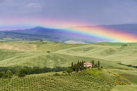 Tuscan Rainbow by Michael Blanchette Photography art print