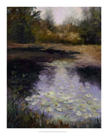Oregon Water Lilies by Mary Jean Weber art print