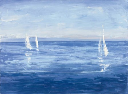 Open Sail by Julia Purinton art print