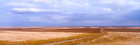 Endless Wheat Fields, Montana by Panoramic Images art print